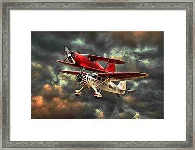 Stinson And Beech Framed Print by Steven Agius