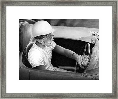Stirling Performance Framed Print by Lyle Brown