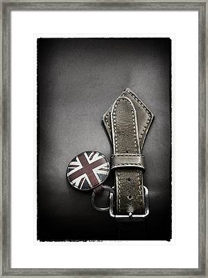 .stitched Up Framed Print by Russell Styles