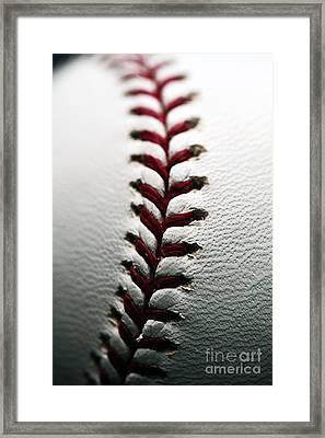 Stitches I Framed Print by John Rizzuto