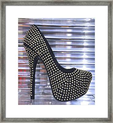 Stocking Stuffer Framed Print by Sean Griffin
