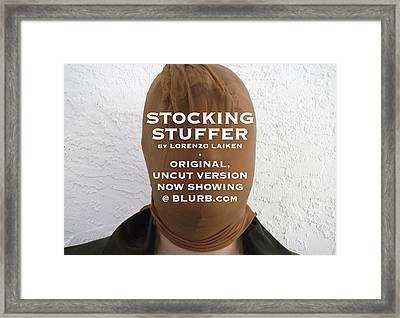 Stocking Stuffer  Uncut Framed Print by Lorenzo Laiken