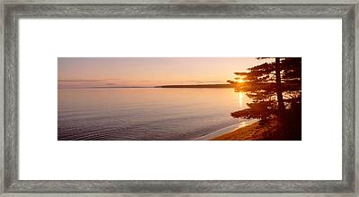 Stockton Island, Lake Superior Framed Print by Panoramic Images