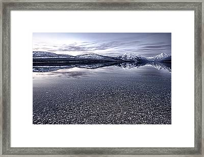 Stone Cold Framed Print by Aaron Aldrich