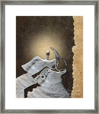 Stone Men 29 - Love Rythm Framed Print by Variance Collections