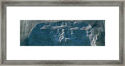 Stone Mountain Confederate Memorial Framed Print by Panoramic Images