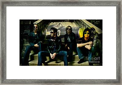 Stone Temple Pilots Framed Print by Marvin Blaine