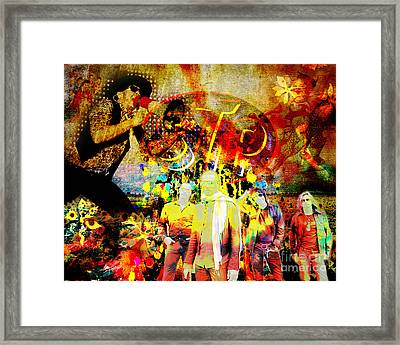Stone Temple Pilots Original  Framed Print by Ryan Rock Artist