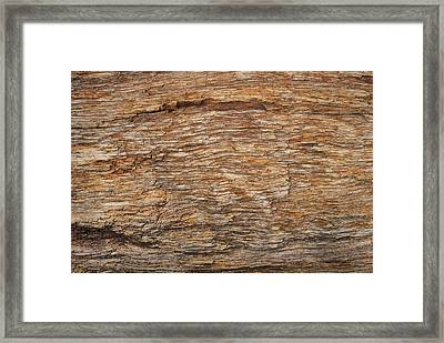 Stone Texture Background Framed Print by Somkiet Chanumporn
