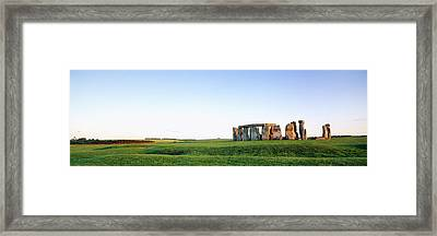 Stonehenge Wiltshire England Framed Print by Panoramic Images