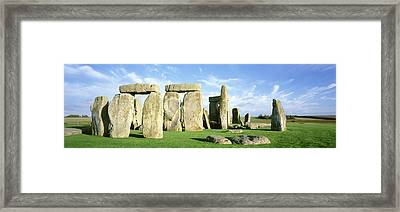 Stonehenge, Wiltshire, England, United Framed Print by Panoramic Images