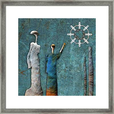 Stonemen - 02201 Framed Print by Variance Collections