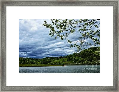Stonewall Jackson Lake  Framed Print by Thomas R Fletcher