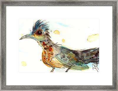 Stop And Smell What? Framed Print by Dawn Derman