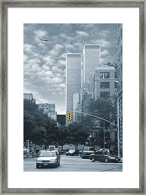 Stop Framed Print by Mike McGlothlen