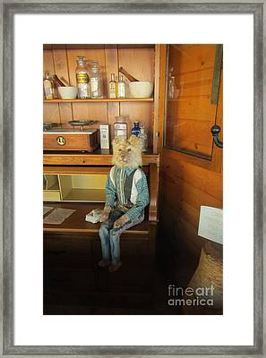 Store Keepers Son Framed Print by John Malone