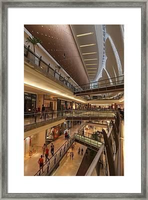 Storefronts Framed Print by Mario Legaspi