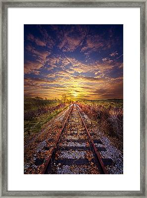 Stories To Be Told Framed Print by Phil Koch