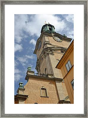 Storkyrkan Cathedral I Framed Print by Marianne Campolongo