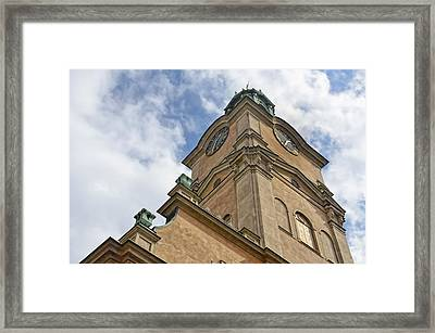 Storkyrkan Cathedral II Framed Print by Marianne Campolongo