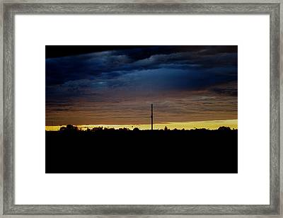 Storm Framed Print by Adam  S