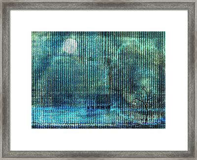 Storm Framed Print by Andy  Mercer