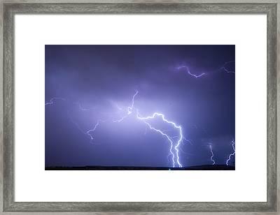 Storm Chase Six Twenty Eight Thirteen Framed Print by James BO  Insogna