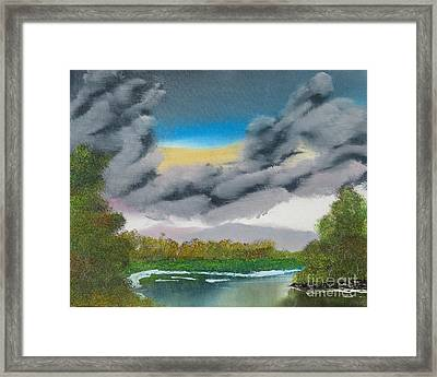 Storm Clouds Framed Print by Dave Atkins
