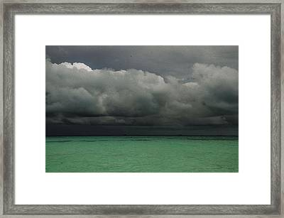 Storm Coming Framed Print by Darlene Freas