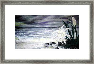Storm In Spring Framed Print by Fabrizio Mapelli