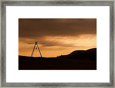 Storm King Framed Print by Terry Cosgrave
