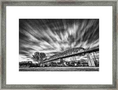 Storm Moving In 2 Framed Print by Steven Llorca