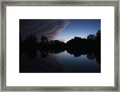 Storm Framed Print by Nicole Elaine