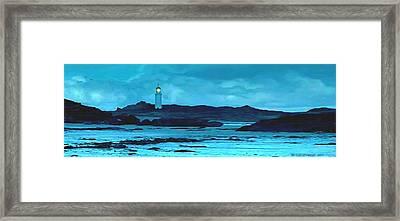 Storm's Brewing Framed Print by SophiaArt Gallery