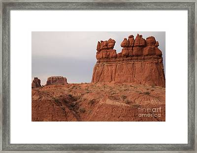 Storms On The Goblin Horizon Framed Print by Adam Jewell