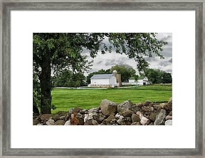 Storms On The Way Framed Print by Christi Kraft