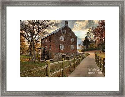 Storms Over Kerr Mill Framed Print by Adam Jewell