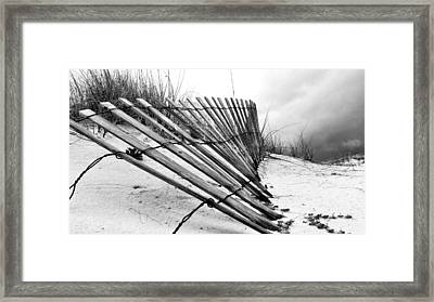 Storms Over Pensacola Beach Framed Print by JC Findley