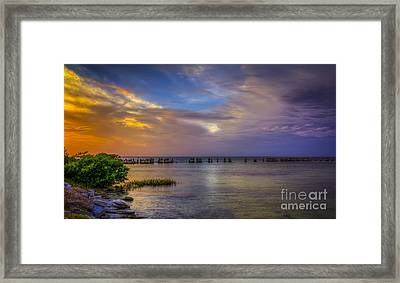 Storms Rolling In Framed Print by Marvin Spates