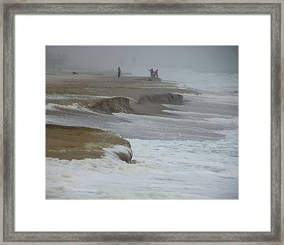 Stormy Day Framed Print by Kim Bemis
