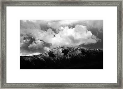 Stormy Departure Framed Print by Heather Kenward