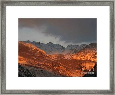 Stormy Monday Framed Print by Fiona Kennard