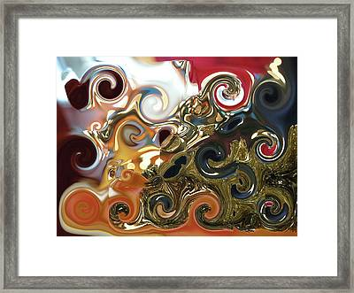 Stormy Ocean Framed Print by James Granberry