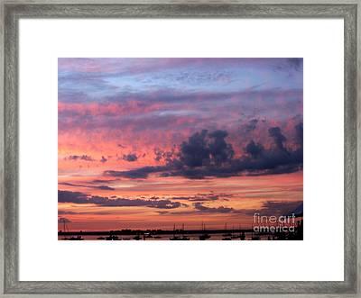 Stormy Skies Framed Print by Dora Sofia Caputo Photographic Art and Design