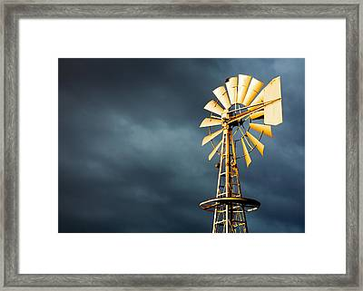 Stormy Skies Framed Print by Todd Klassy