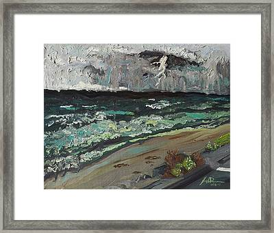 Stormy Weather Framed Print by Joseph Demaree