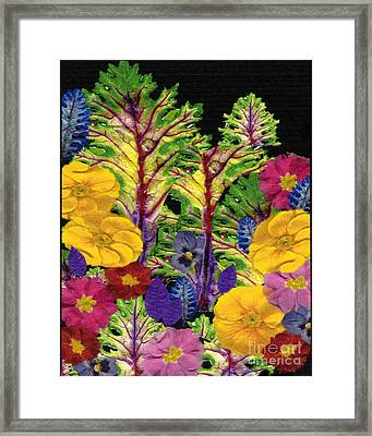 Story Book Forest Framed Print by Kathie McCurdy