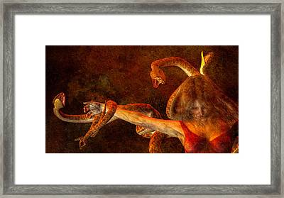 Story Of Eve Framed Print by Bob Orsillo