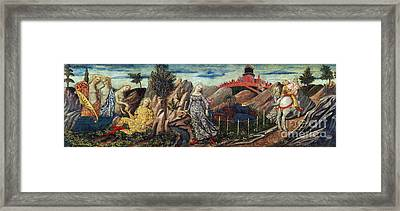 Story Of Oenone And Paris 1460 Framed Print by Getty Research Institute