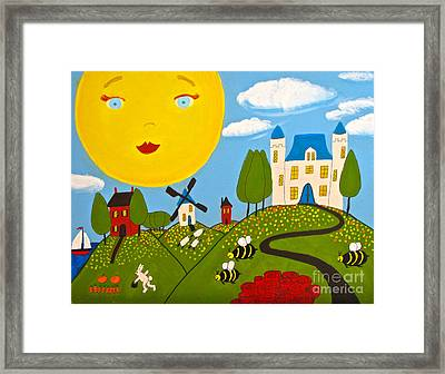 Story Time Framed Print by Anita Lewis
